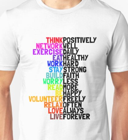 Life in Bright Colour T-Shirt