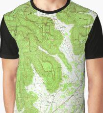 USGS TOPO Map Alabama AL Doran Cove 303698 1967 24000 Graphic T-Shirt