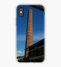 Old factory chimney iPhone Case
