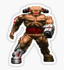 Doom Cyberdemon Sticker