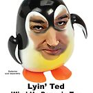 Lyin' Ted Wind-Up Penguin by ayemagine
