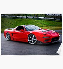 1994 Acura NSX R Poster