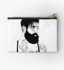 For The Love Of Bearded Men Studio Pouch