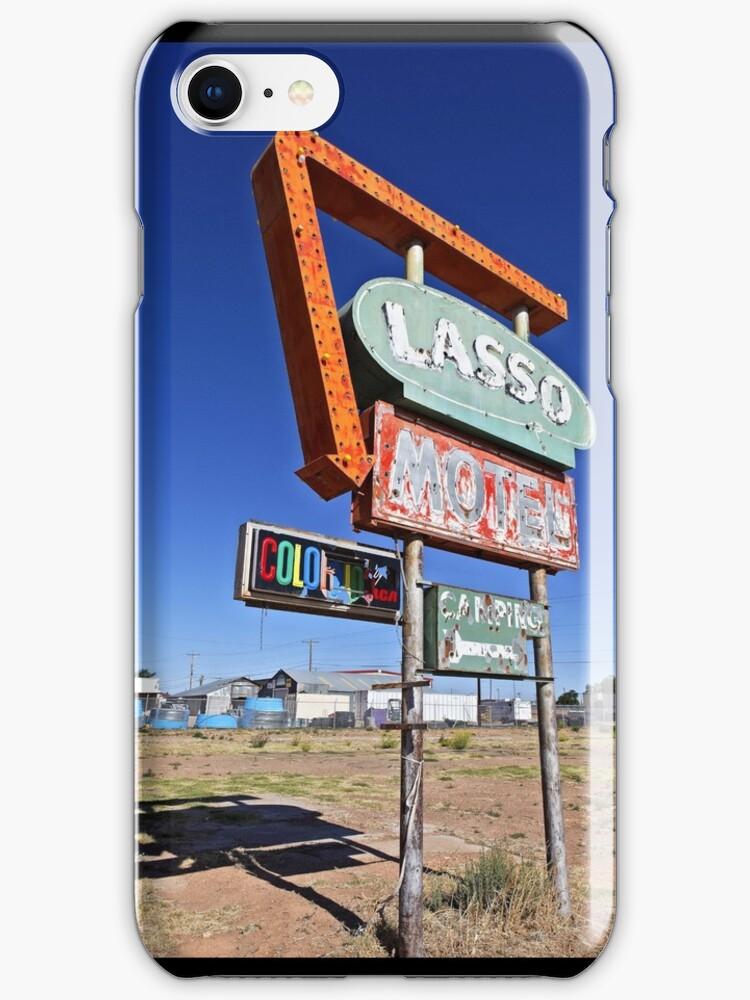 Route 66 Lasso Motel by Warren Paul Harris