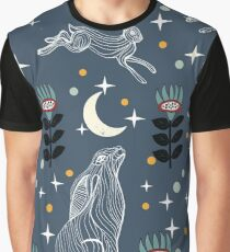 Hare Moon Graphic T-Shirt