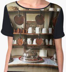 Victorian Kitchen Display Women's Chiffon Top