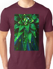 Morning Dew On Plant Unisex T-Shirt