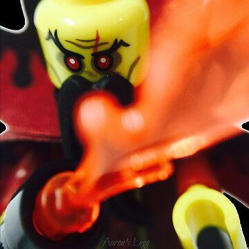 Lego Evil Wizard minifigure by aaronslego