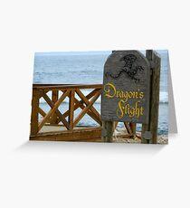 Dragon's Flight - Labadee Greeting Card