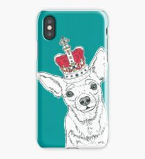 Chihuahua In A Crown iPhone Case