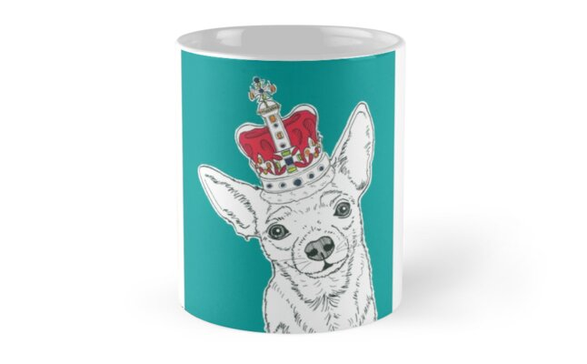 Chihuahua In A Crown by Adam Regester