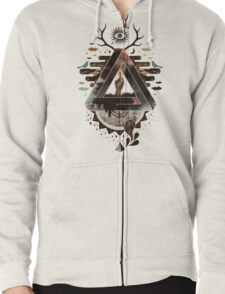 All Impossible Eye Zipped Hoodie