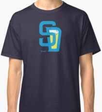 San Diego Baseball and Beer  Classic T-Shirt