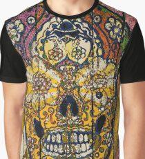 Sugar Skull streetart graffiti Graphic T-Shirt