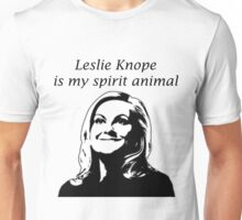 Leslie is my spirit animal Unisex T-Shirt