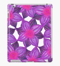 Vinilo o funda para iPad Pretty Lavender Purple Watercolor Flowers Pattern