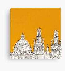 Oxford Rooftops Canvas Print