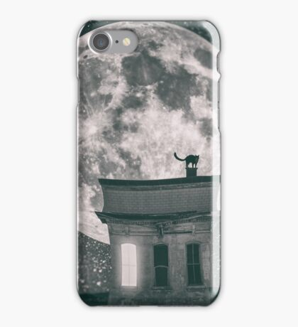Cat by night - part one iPhone Case/Skin