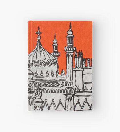 Orange Pavilion Hardcover Journal