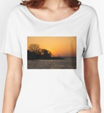 Greeting the Day in Flight  Women's Relaxed Fit T-Shirt