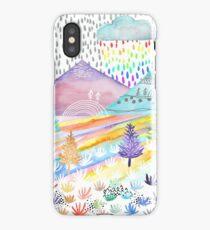 Watercolour Landscape iPhone Case/Skin