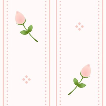 Rosebuds and Stripes by gigglish
