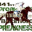 141st Preakness Triple Crown  Horse Racing by Ginny Luttrell