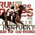 142nd Run for the Roses 2016 Triple Crown Horse Racing by Ginny Luttrell
