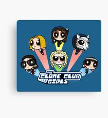 The Clone Club Girls Canvas Print