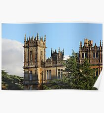 Highclere Castle (Downton Abbey) Poster