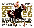 148th Belmont Stakes Triple Crown Horse Racing 2016 by Ginny Luttrell