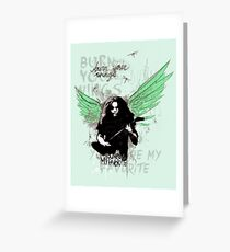 Burn Your Wings Greeting Card