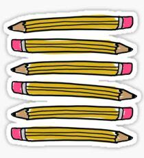 School Pencils Sticker