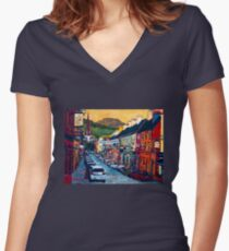 Kenmare 2011 Women's Fitted V-Neck T-Shirt