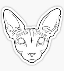 Sphynx Cat Sticker