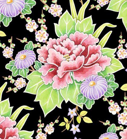 Kimono Bouquet Chintz Sticker