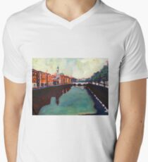 Liffey, Arran Quay and Ushers Quay - Dublin T-Shirt