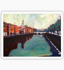 Liffey, Arran Quay and Ushers Quay - Dublin Sticker