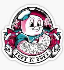 Tuff N' Puft Sticker