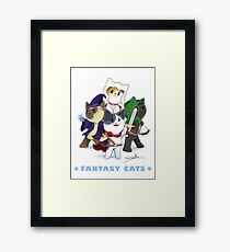 Fantasy Cats Framed Print