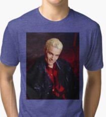 Spike Smirk Tri-blend T-Shirt