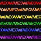 Meow Stripes (set 5) by Mannykat8x