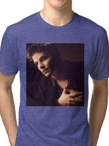 Angel hand on chest Tri-blend T-Shirt