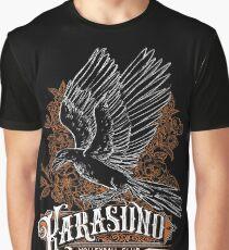 Haikyuu Team Types: Karasuno Black Graphic T-Shirt