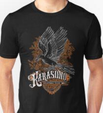 Camiseta unisex Tipos de equipo Haikyuu: Karasuno Black