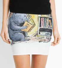 Mr Wombat Reads Mini Skirt