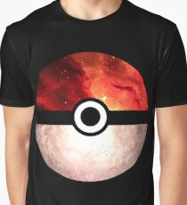 Galaxy Pokeball Graphic T-Shirt