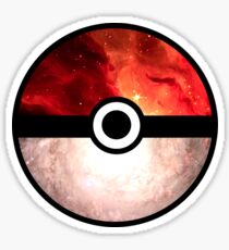 Galaxy Pokeball Sticker