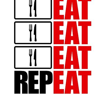 Eat, Eat, Eat, Repeat by skyre