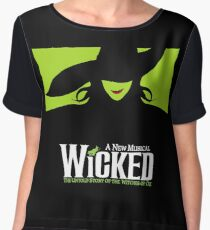 Wicked Broadway Musical - Untold Story about Wizard Of Oz - T-Shirt Women's Chiffon Top